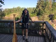 Tim at the Tulabi Falls lookout.